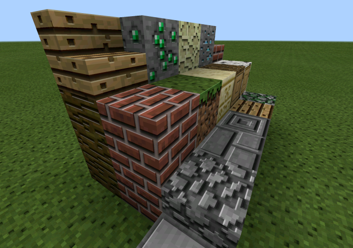 Triangle Minecraft Texture Pack