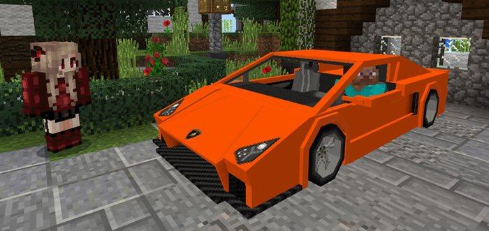 Sports Car: Lamborghini Addon 1.0/0.17.0