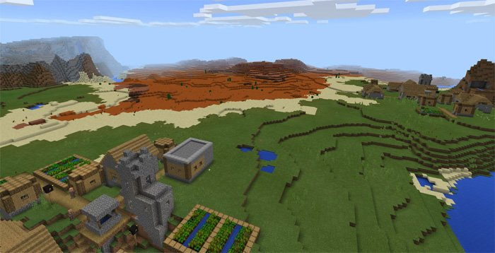 -1850349118: Mesa Biome & Villages 1.0.4/1.0