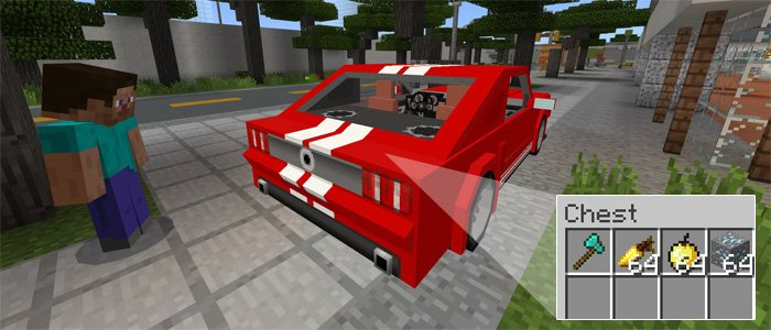 Sports Car: Ford Mustang Addon 1.0.4/1.0.0