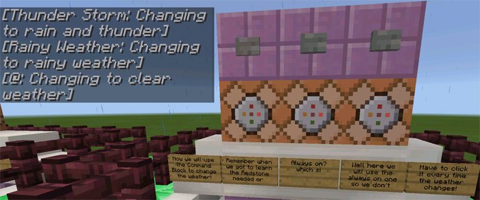 Command Block Tutorial [Redstone] (1.0.5 Only) | Maps for Minecraft PE