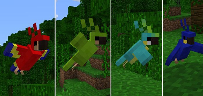 Minecraft PC Parrots Add-on