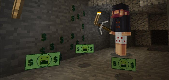 Notch's Money Addon