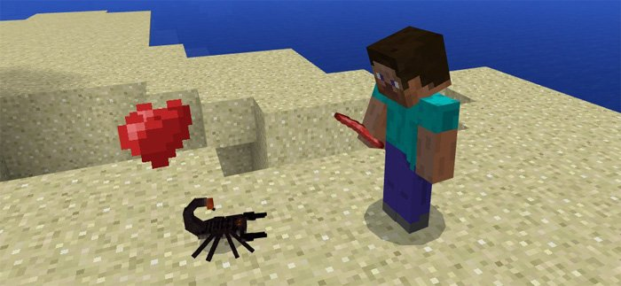 Scorpions Add-on for MCPE