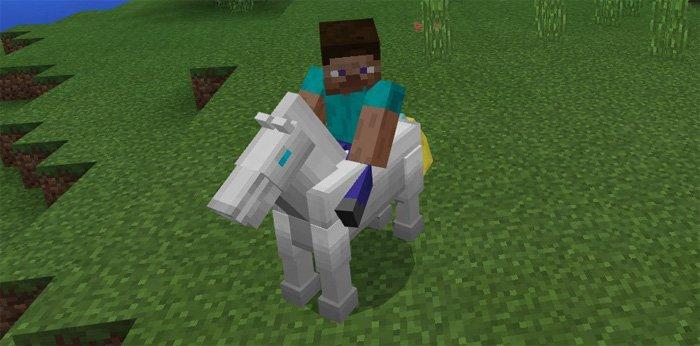 Robot Horse Mod 1 2 3/1 2 2/1 2 1/1 2 for Minecraft PE