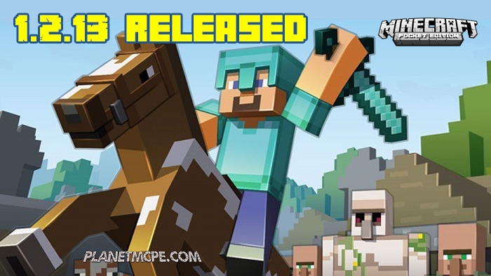 Download Minecraft PE 1.2.13 for Android