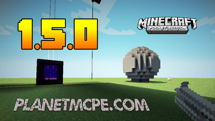 Download Minecraft PE 1.5.0 for Android