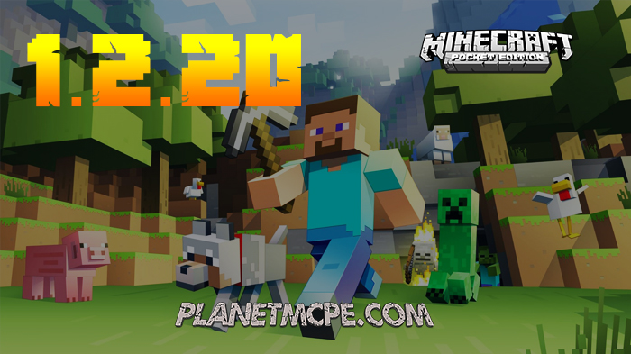 Free Download Minecraft PE 1.2.20 (Bedrock)