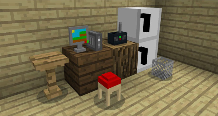 Download Mine Furniture Addon for Android Mods for