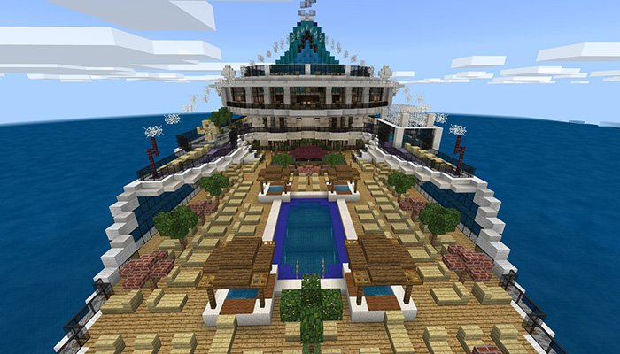 Download Serenity Breeze Map for Minecraft for Android