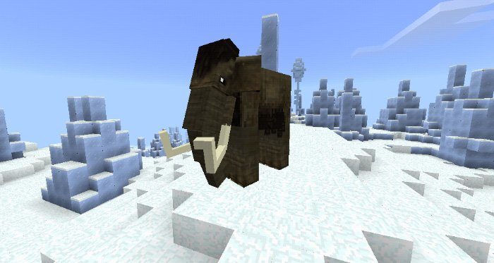 Download Elephants & Mammoths addon for Minecraft Bedrock Edition for Android