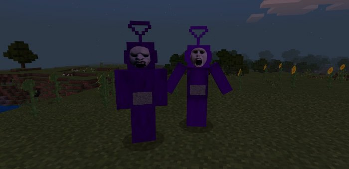 Download Slendytubbies addon 1.8 for Minecraft Pocket Edition for Android