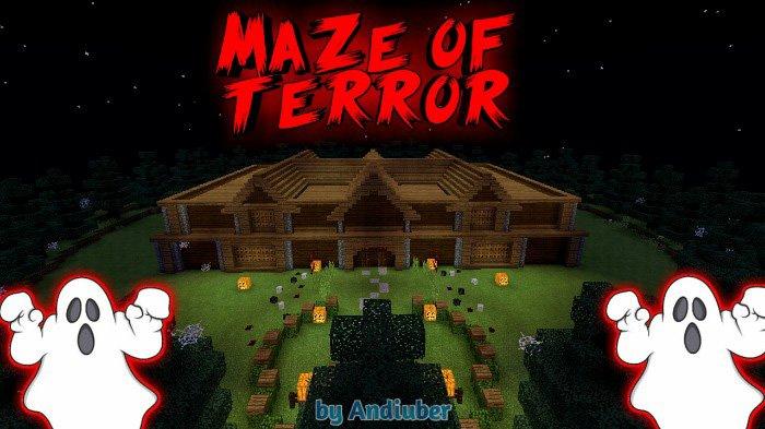 Maze of Terror Map