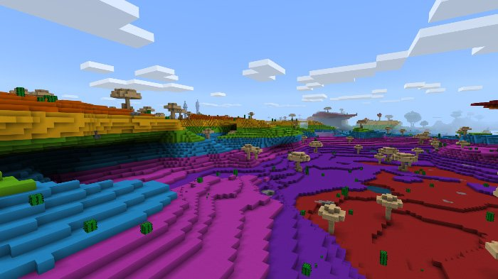 Download The Palette Place Map for Minecraft Pocket Edition
