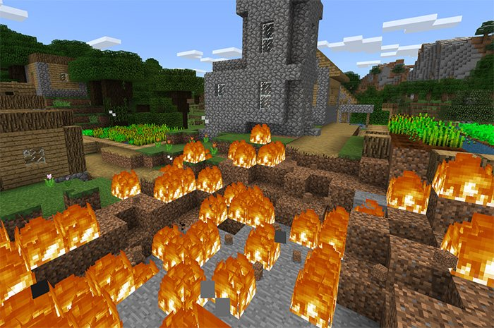 Download Lucky Block Addon 1.8 for Minecraft