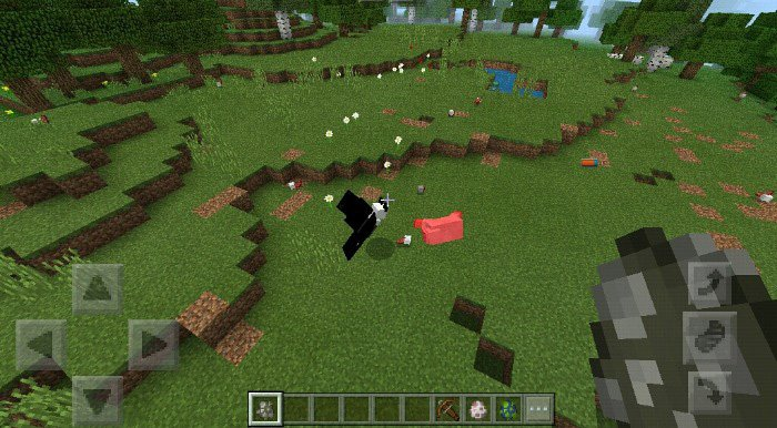 Download The Eagle of the Sky addon for MCPE