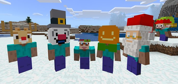 Christmas Heads Costumes Addon