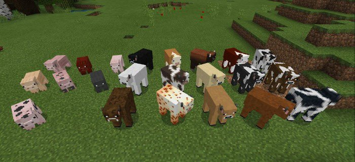 Domestic Mobs Addon 1.8