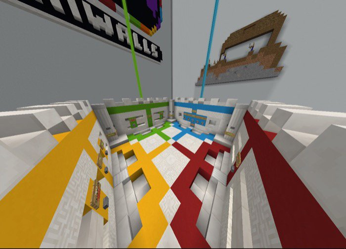 download Spectrum Studios – Mini-Walls Map for Minecraft Pocket Edition
