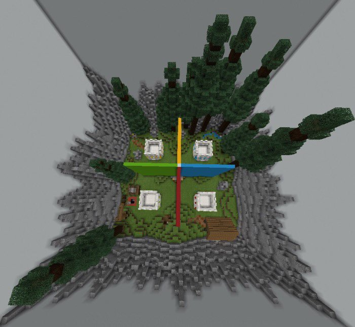 download Spectrum Studios – Mini-Walls Map for Minecraft Pocket Edition