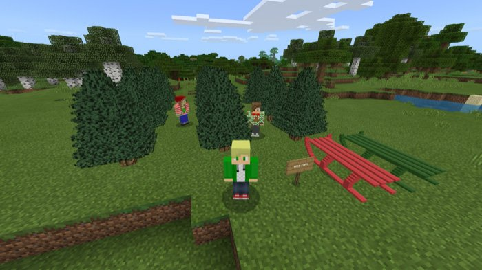 Download Winter Wonderland Addon for Minecraft Pocket Edition for Android