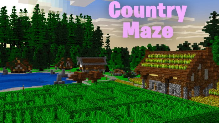 SkyGames Countryside Maze Map
