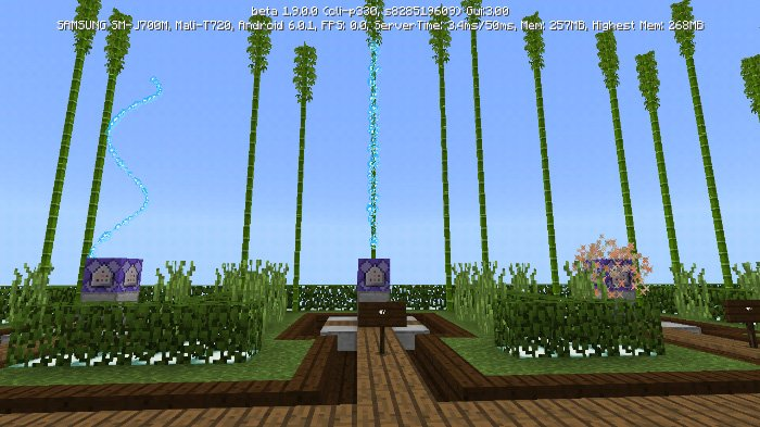 Download New Particles Map for Minecraft 1.8
