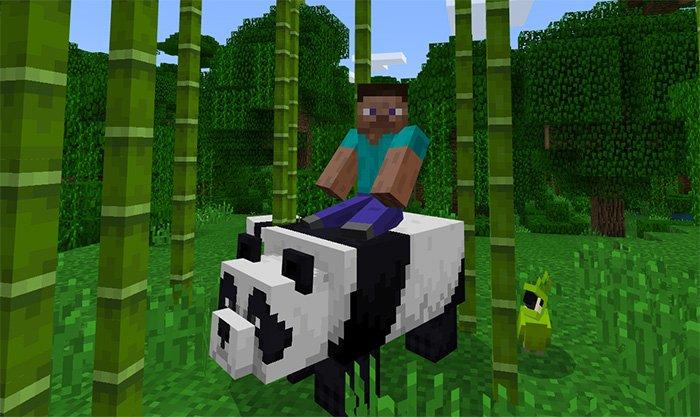 Tameable Pandas Addon 1.8