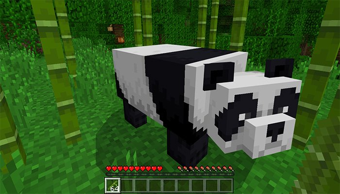 Download Tamable Pandas Addon for MCPE 1.8