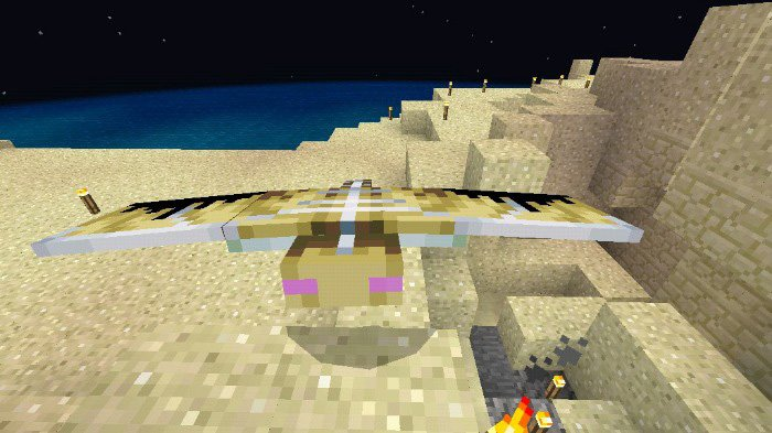 Download Addon More Phantom for Minecraft Bedrock 1.9 - Android | PlanetMCPE