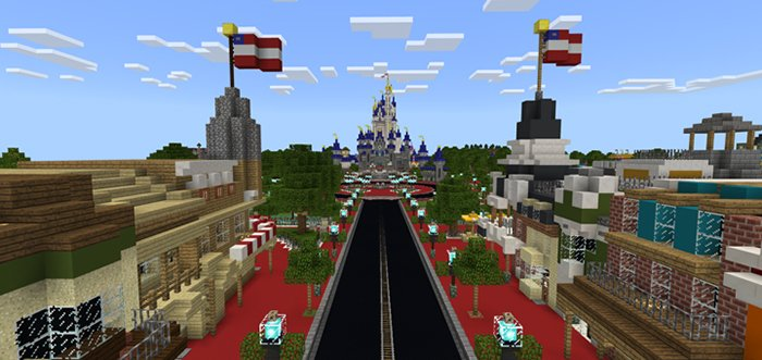 Download Map Minecraft Walt Disney World for Minecraft Bedrock 1.8.0 - Android   PlanetMCPE