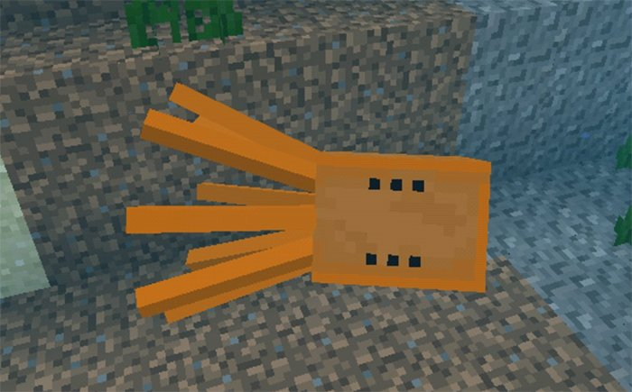 Download Addon Colored Squids for Minecraft Bedrock 1.8.0 - Android   PlanetMCPE