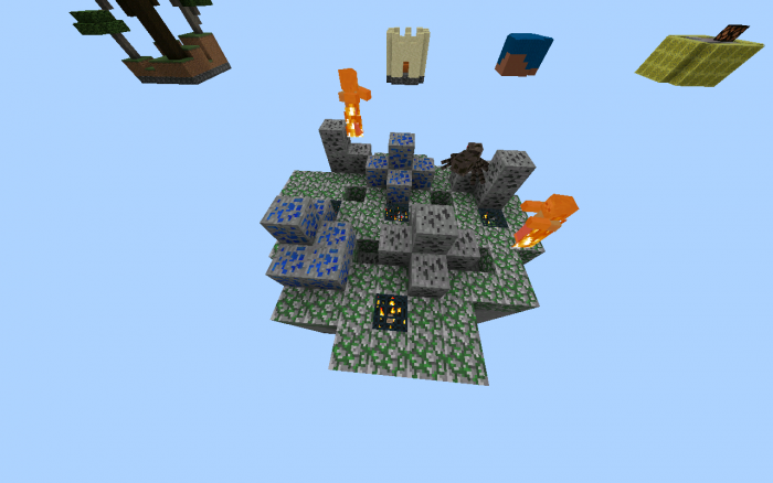 Download Map Delta Sky Islands for Minecraft Bedrock 1.8.0 - Android | PlanetMCPE