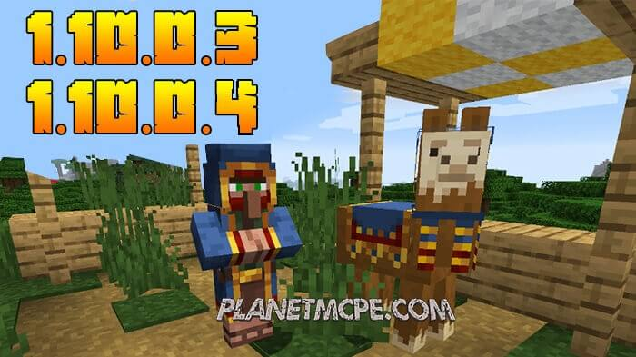 Minecraft PE 1.10.0.4 / 1.10.0.3 Beta