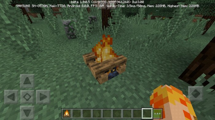 Download Addon Campfire Concept for Minecraft Bedrock 1.8.0 - Android | PlanetMCPE