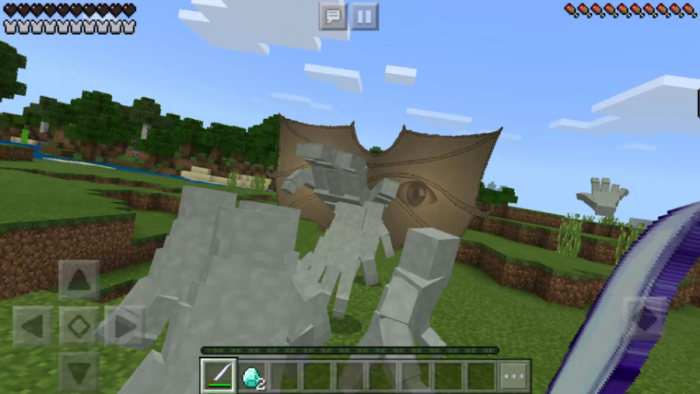 Download Addon The Hand for Minecraft PE - APK | PlanetMCPE