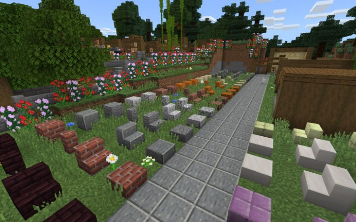 Map Village And Pillage (Creation) for Minecraft PE 1.9 / 1.10 (beta)
