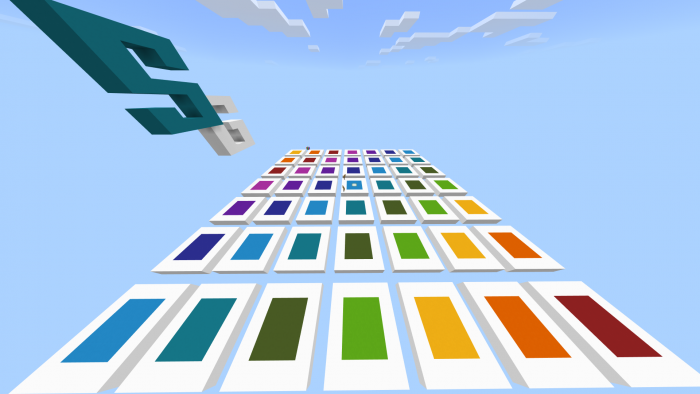 Download Map SkyGames Rainbow Runner for Minecraft PE - APK  | PlanetMCPE