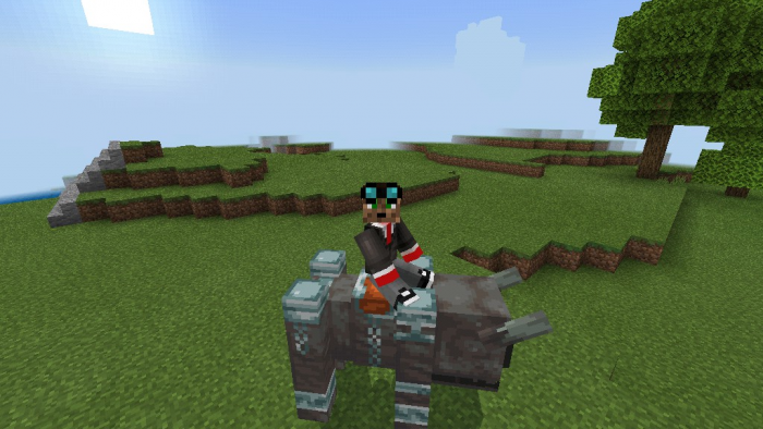 Download Addon Rideable Ravager for Minecraft PE - APK   PlanetMCPE