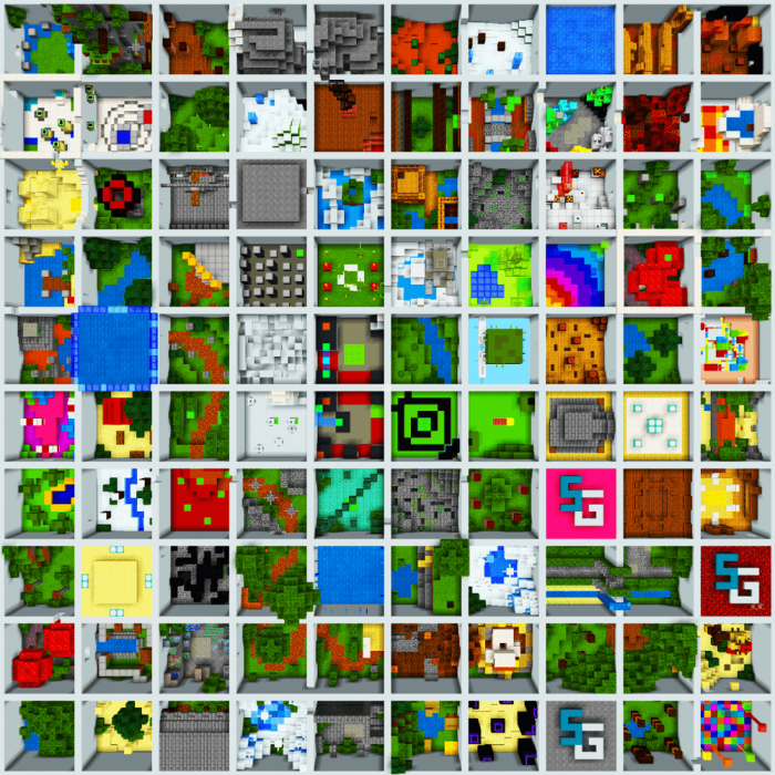 Download Map SkyGames The Grid 2019 for Minecraft PE - APK    PlanetMCPE