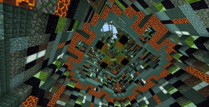 Download Map Infinite Antidroppers for Minecraft PE - APK | PlanetMCPE