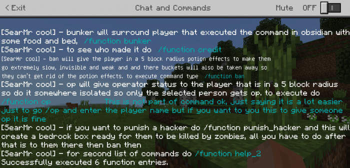 Addon Function pack for multiplayer 1.10