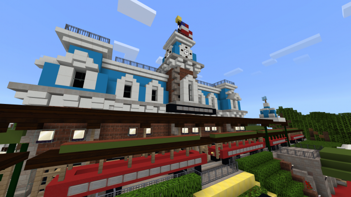 Texture Pack Minecraft Walt Disneyworld 1.10