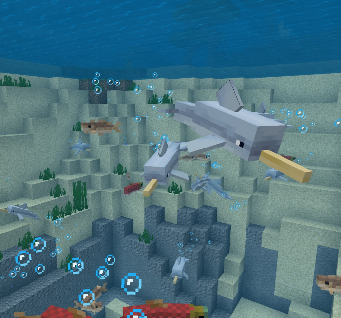 Texture Pack Narwhals 1.10