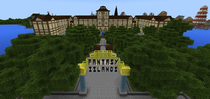 Map Fantasy Islands (Theme Park) [Creation] [Roller Coaster] 1.10