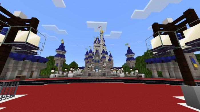 Map Minecraft Walt Disneyworld [Creation] 1.10