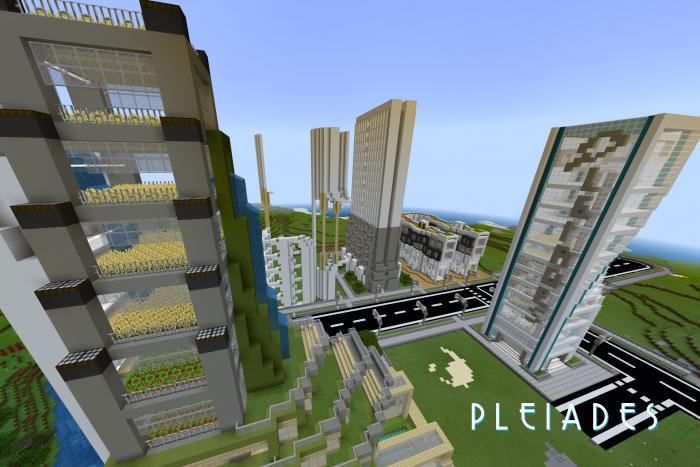 Map Pleiades City 1.10