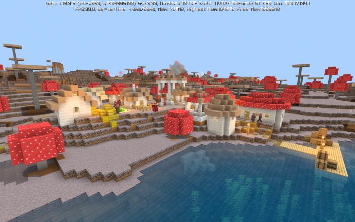 Map Mushroom Village 1.11