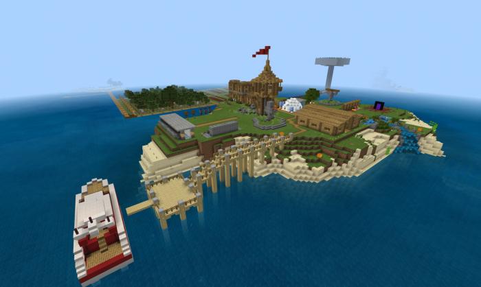 Map EckoSoldier's Last Ever Minecraft 360 World Download! 1.10