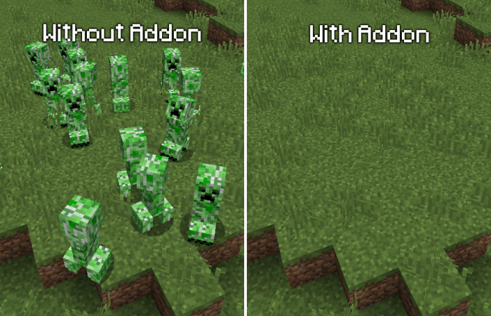 Addon Disable Creepers 1.10
